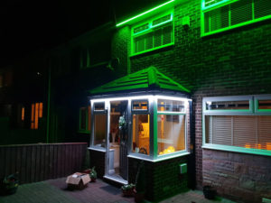 LBM Electrical Blyth Electricians - GreenLED Outside Strip Lighting Install
